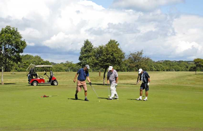 Pembrokeshire has a wide variety of excellent golf courses to choose from