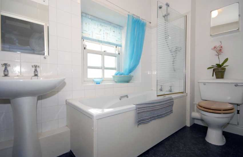 Pembrokeshire holiday cottage - family bathroom