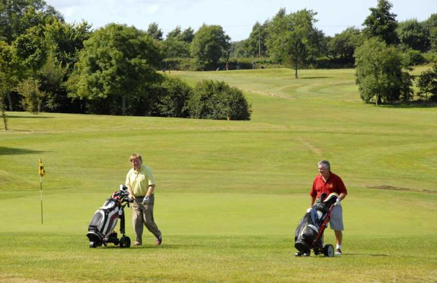 Pembrokeshire has a variety of challenging golf courses to choose from