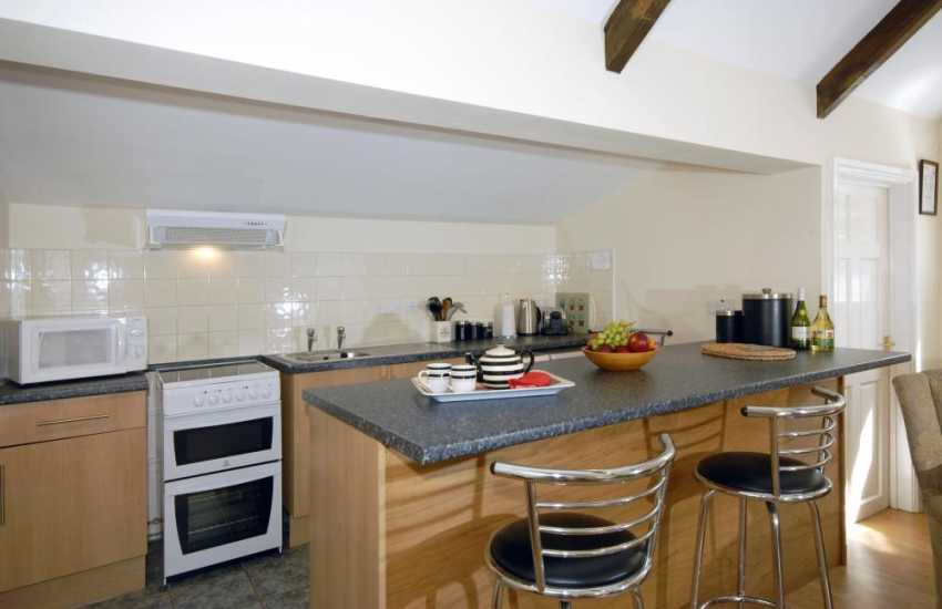 Self-catering cottage North Pembrokeshire - kitchen