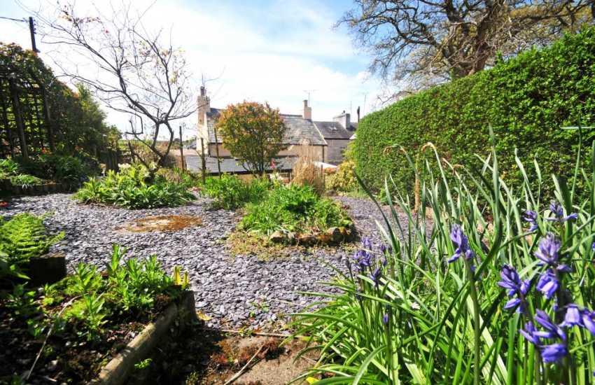 Holiday cottage near Porthdinllaen - garden