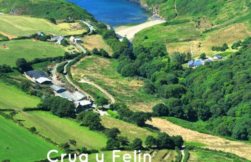 Ceibwr holiday home on the North Pembrokeshire coast