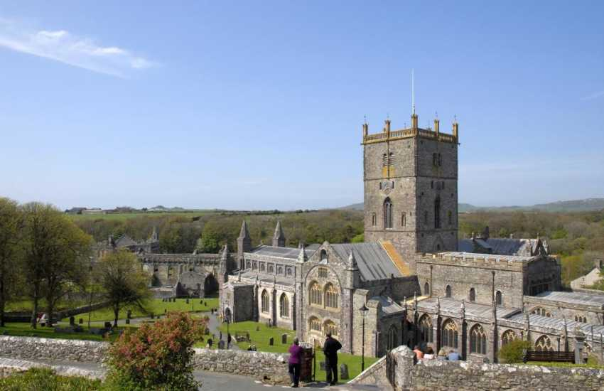 The magnificent St Davids Cathedral is well worth a visit