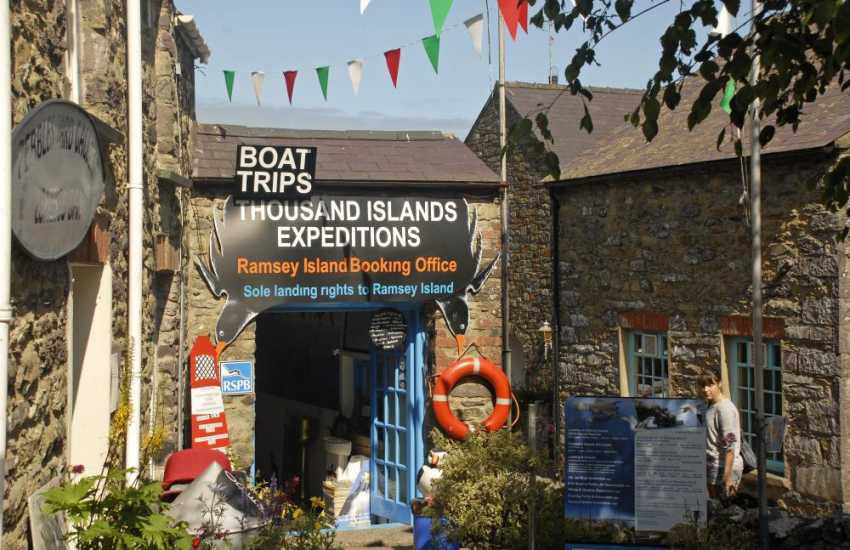 St Davids booking offices sell tickets for boat trips along the Pembrokeshire coast and out to the bird islands. Enjoy this wonderful holiday experience