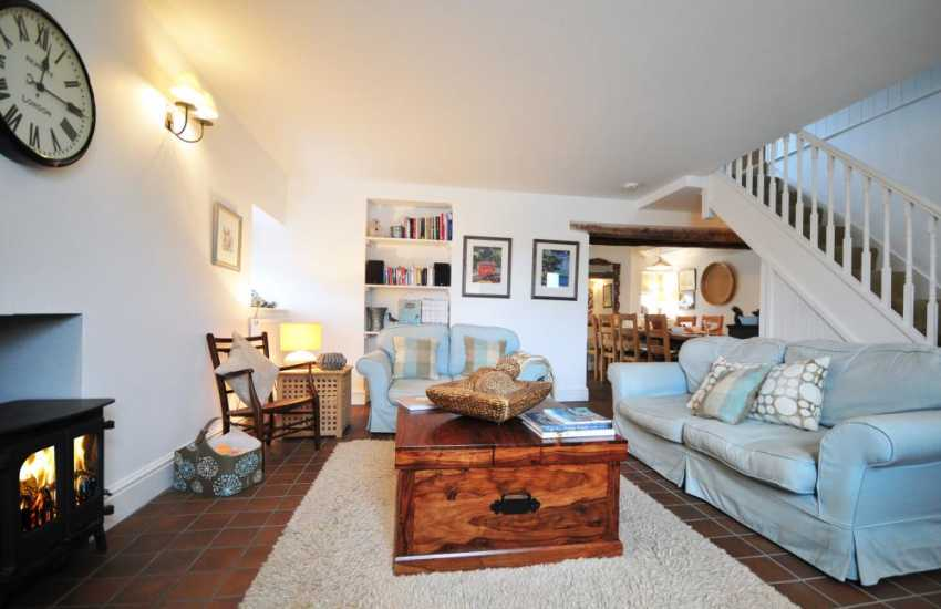 Luxury holiday cottage Morfa Nefyn - lounge
