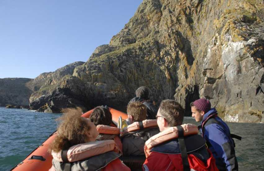 The Pembrokeshire Coast with its wonderful marine life is best explored by enjoying an exciting boat trip