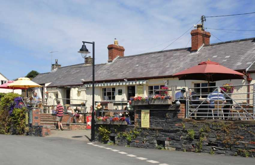 Porthgain is a picturesque little harbour village with two pubs and galleries - try The Sloop Inn, a family friendly pub and popular with the locals