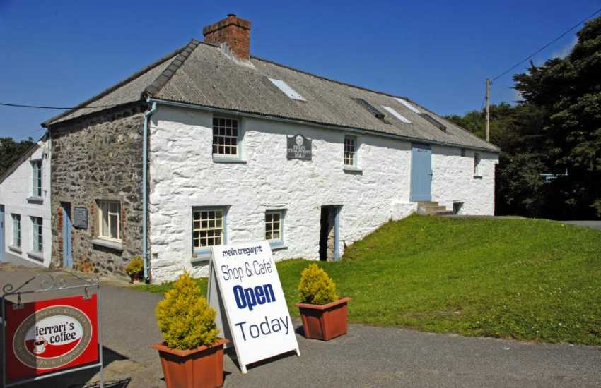 Visit Melin Tregwynt Mill, Castlemorris for exclusive Welsh throws, blankets, cushions and clothing
