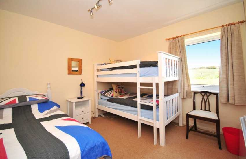 Holiday cottage Morfa Nefyn - bunk beds
