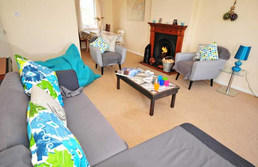 Lleyn Peninsula holiday cottage - lounge/dining