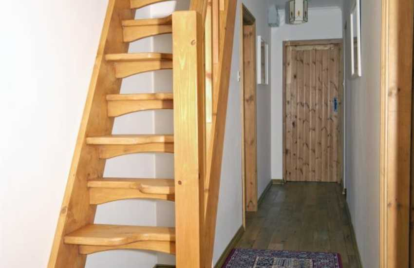 The paddle staircase at Smithy Cottage