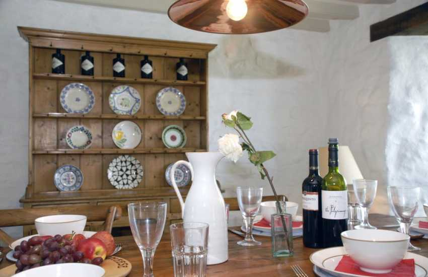 A Pembrokeshire home filled with an eclectic mix of modern and antique pieces