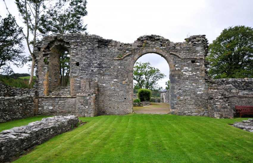 Strata Florida Abbey is one of Wales' most significant ancient sites with a visitors centre and cafe too