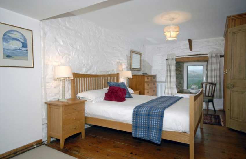 Holiday home in North Pembrokeshire - master with countryside views