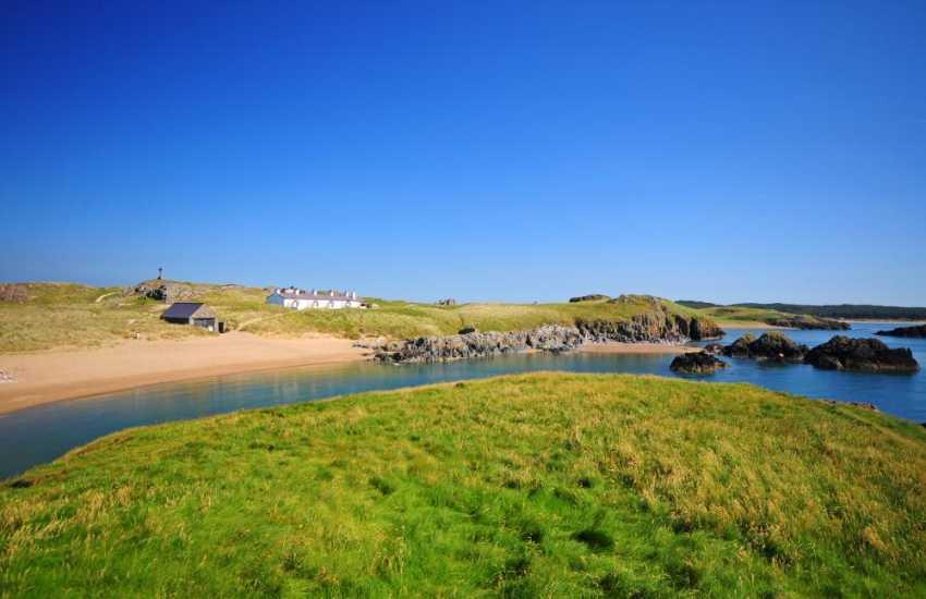 Llanddwyn Island beach Anglesey