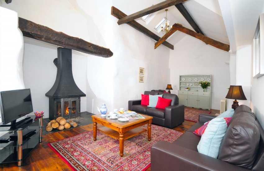 Holiday cottage Llanbedr - lounge