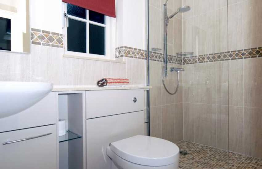 North Pembrokeshire holiday cottage - double en-suite shower
