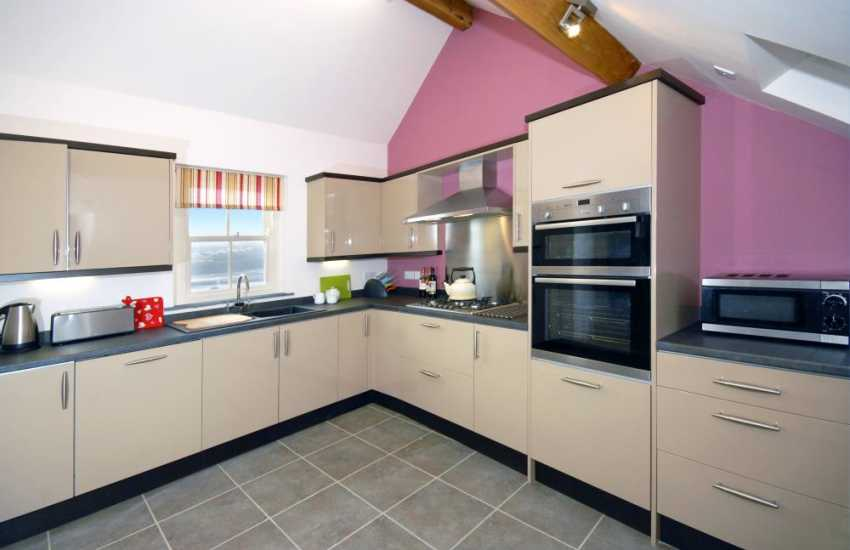 Self-catering cottage near Fishguard - smart, modern kitchen