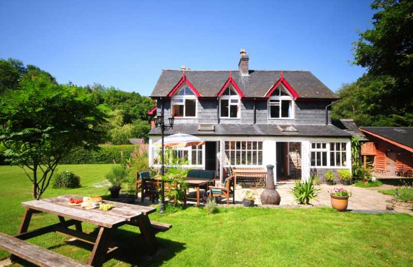 Mid Wales holiday home for large families