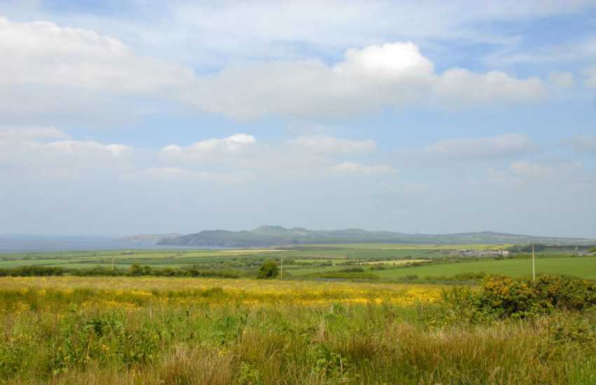 Enjoy fabulous panoramic views over the surrounding countryside to the coast and Strumble Head