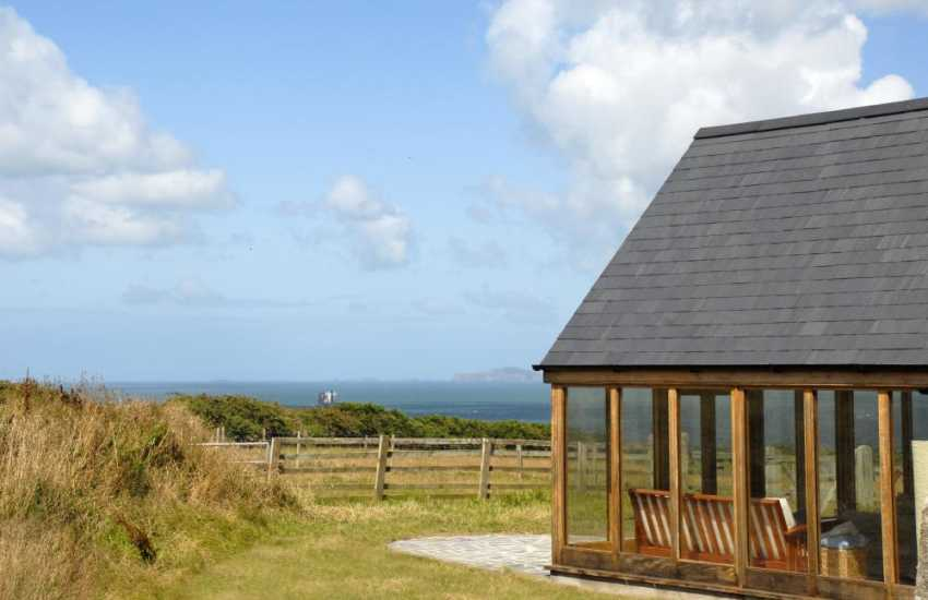 Marloes holiday accommodation with sea views