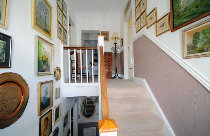 North Wales cottage with character - hall