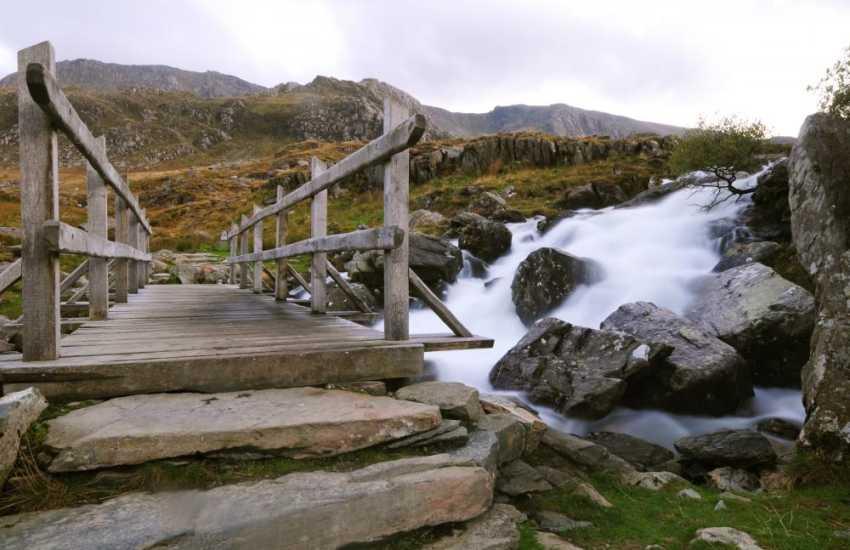 Cwm Idwal, Snowdonia, a walkers paradise