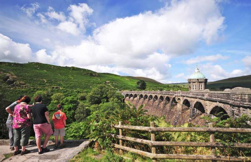 The Elan Valley, Rhayader cycle trails and picnic spots