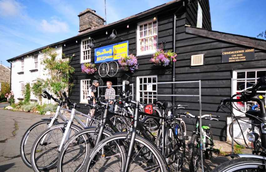 Bike hire in Rhayader. Follow the scenic Elan Valley CycleTrail, passing some of the most dramatic scenery in Mid Wales