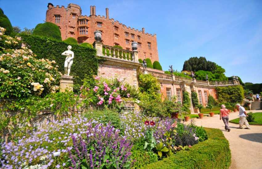 Powis Castle at Welshpool, great any time of year