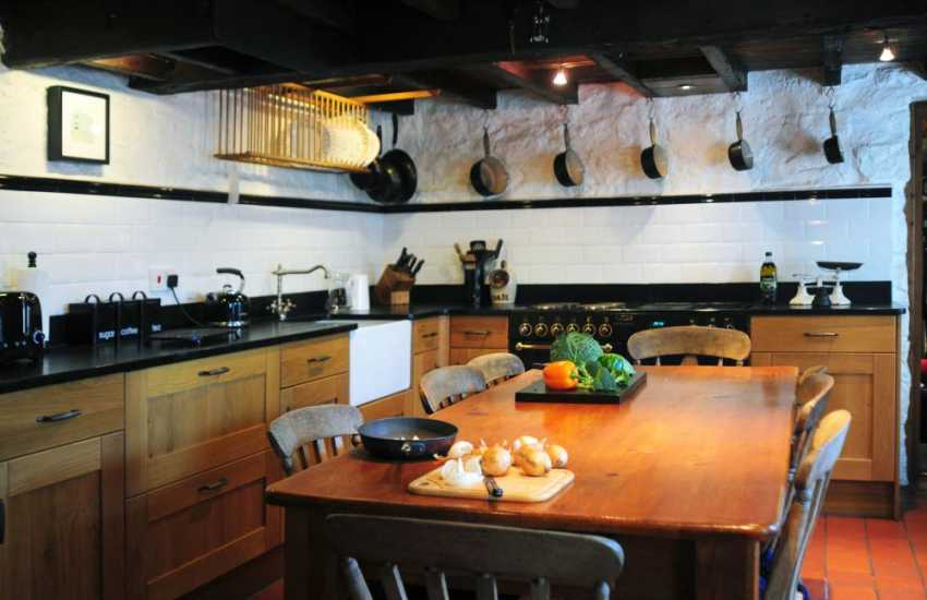 Pet friendly Anglesey cottage - kitchen