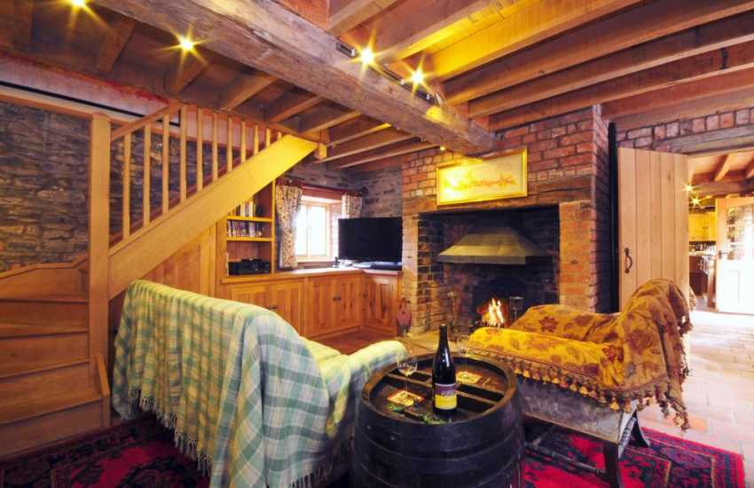 owys holiday cottage - lounge