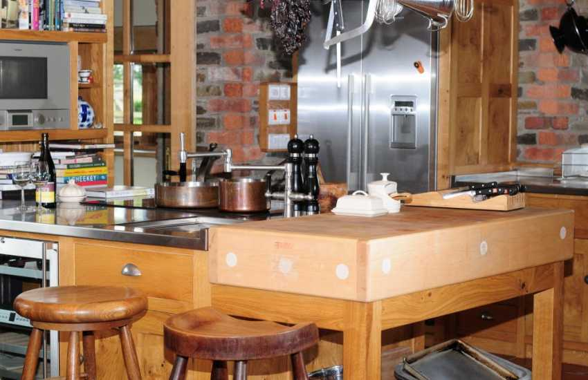 Welsh Marches holiday cottage - kitchen