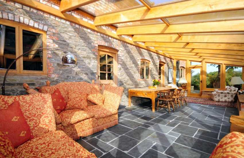 Mid Wales retreat - conservatory