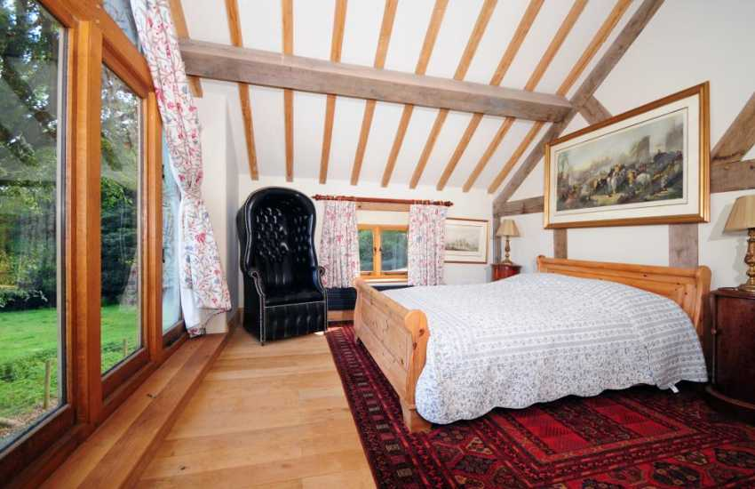 Powys Luxury cottage in Mid Wales - bedroom