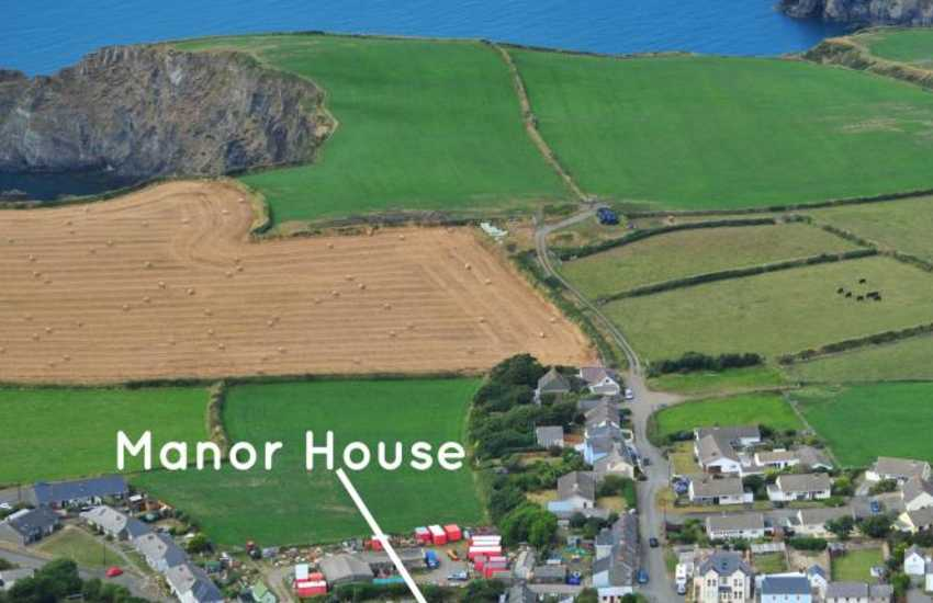 North Pembrokeshire holiday home near the coast path