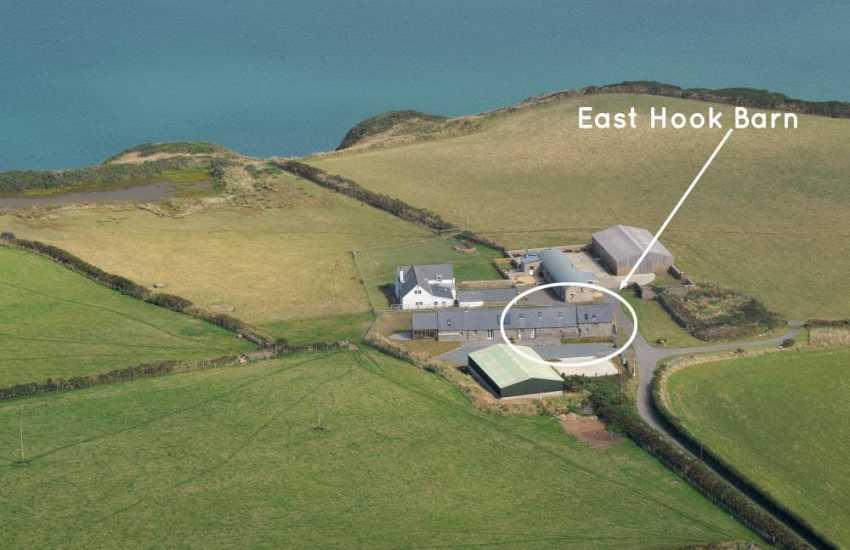 Marloes Peninsula luxury restored barn on the Pembrokeshire Coast Path