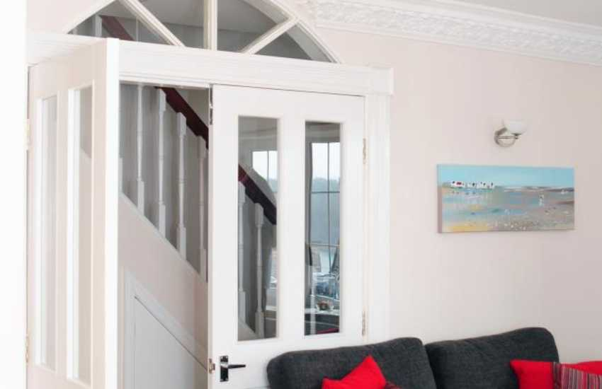 Holiday cottage on the Menai Strait - lounge
