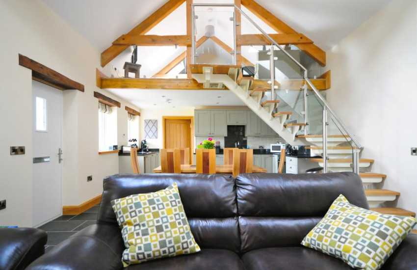 Holiday cottage near Devils bridge - lounge