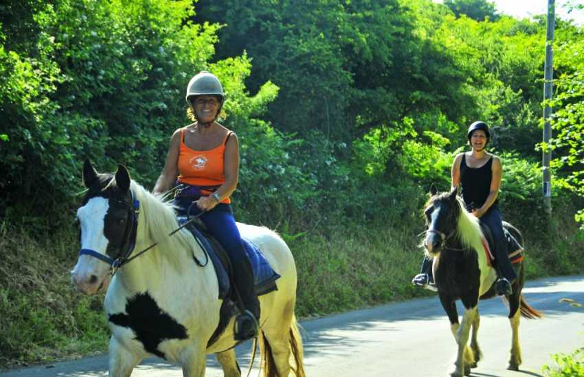 Nolton Riding Stables cater for beginners and experts - quiet trekking through the countryside or a gallop along the beach is a truly magical experience