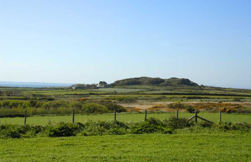 Walk across the surrounding farmland to the Pembrokeshire coast Path beyond
