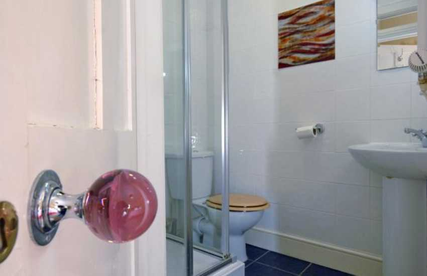 Pembrokeshire holiday home - double en-suite shower