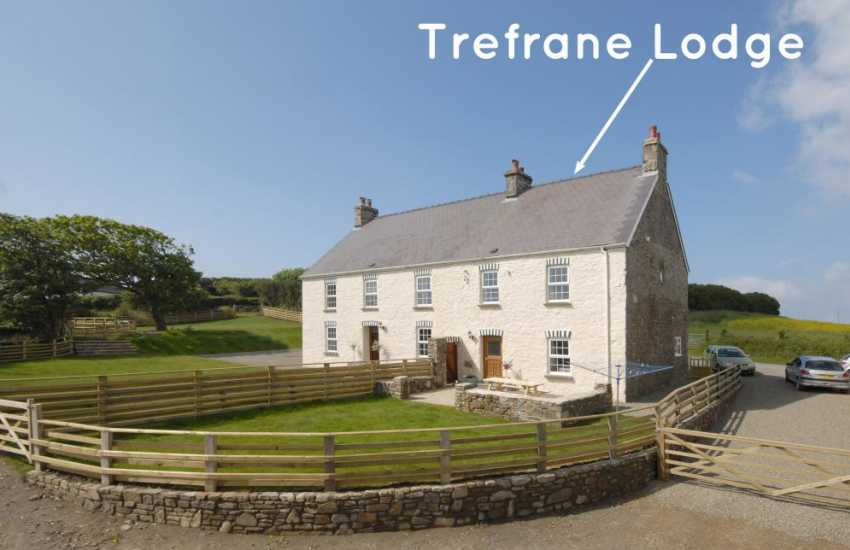 Farmhouse for holidays in the Pembrokeshire Coast National Park