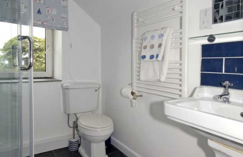 Pembrokeshire Nolton Haven cottage - shower room