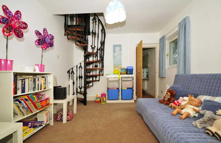 Welsh coastal cottage  - playroom