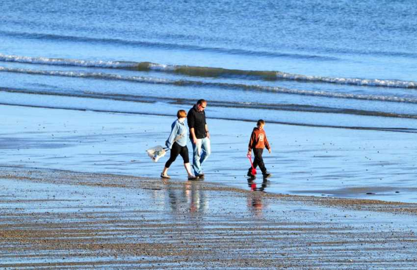 Criccieth Beach, the family friendly 'Jewel in the Crown of North Wales'