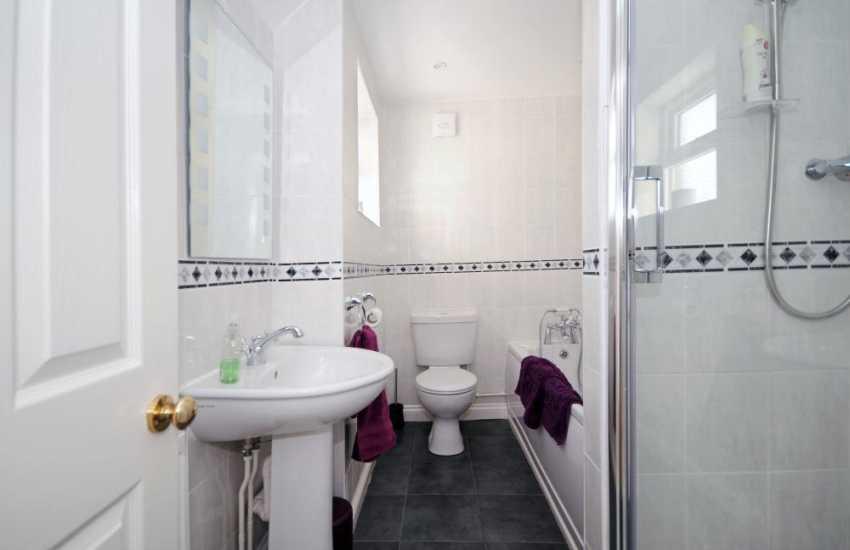 Myddfai holiday cottage - bathroom