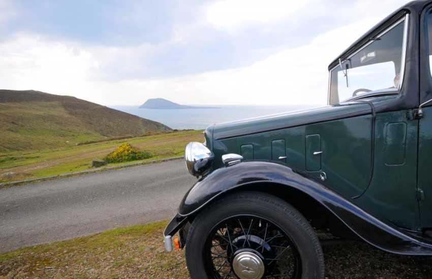 North Wales coastal roads make motoring a pleasure