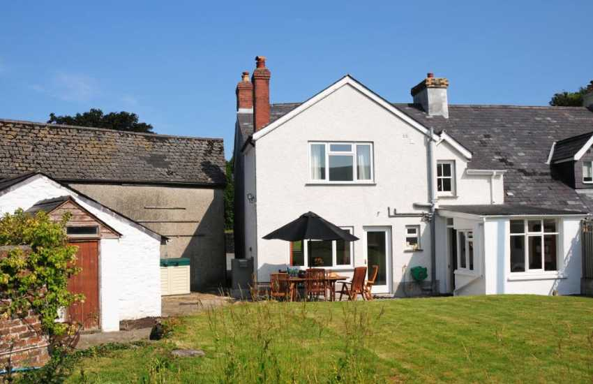 Holiday cottage Myddfai Wales- exterior