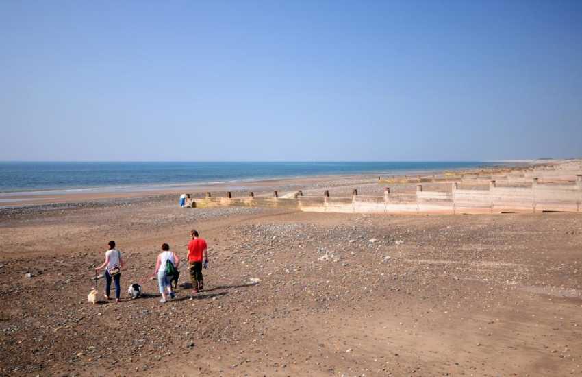 Tywyn beach and coastal walks